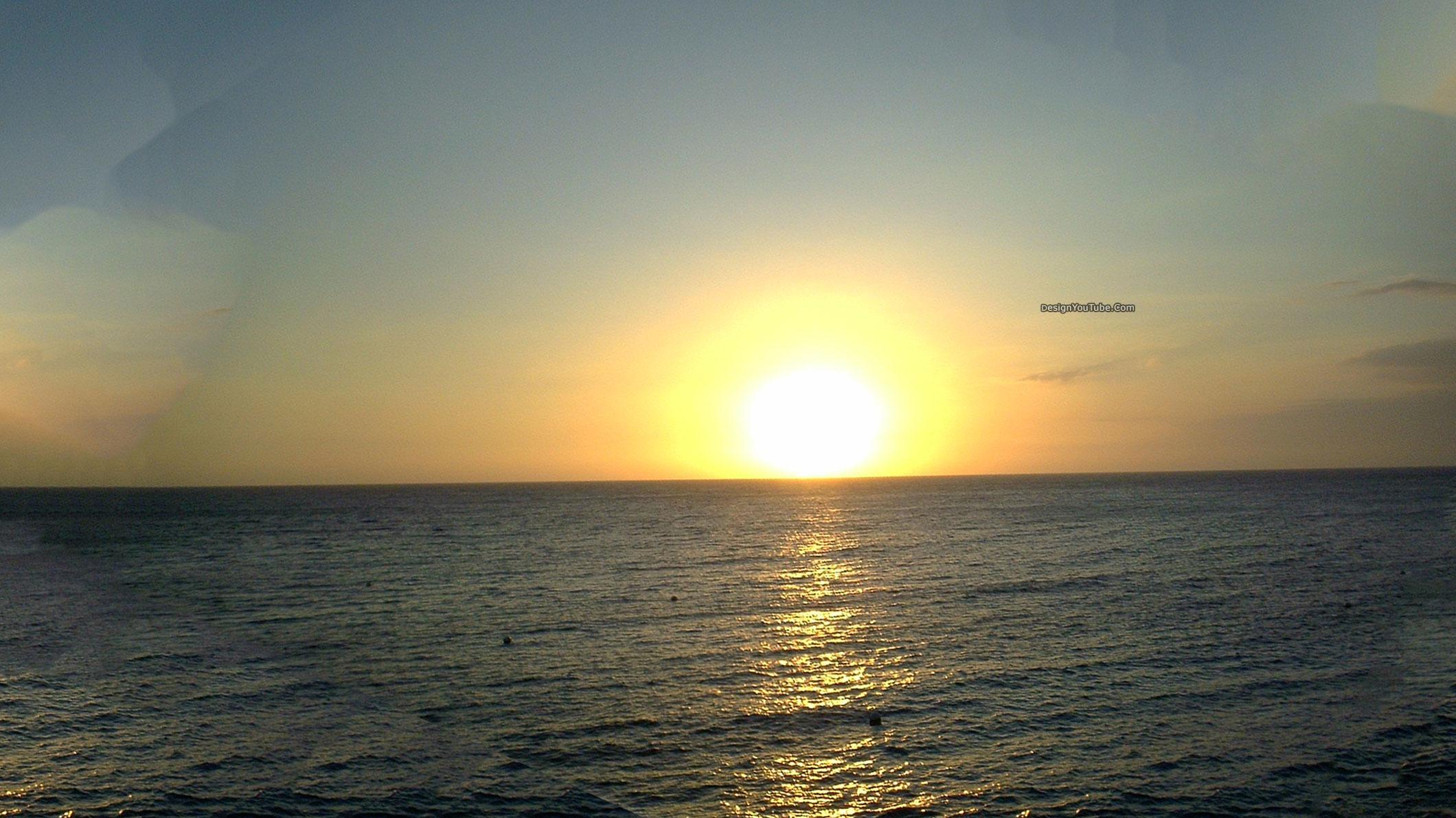Sunset Youtube Channel Art